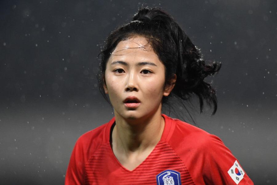 日本のINACでプレーした韓国代表MFイ・ミナ、後継者の新鋭DFに母国注目(※写真は韓国代表イ・ミナです)【写真:Getty Images】