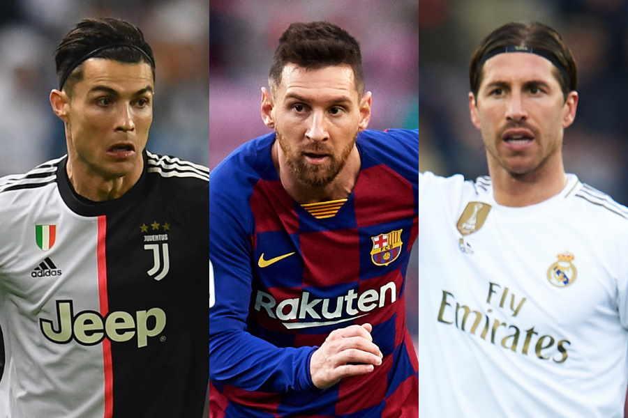 サッカー界のビッグクラブがランキング上位を独占した【写真:Getty Images】