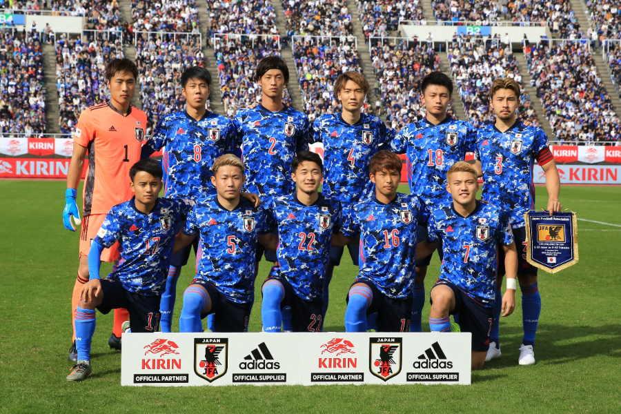 U-22日本代表のスタメンが発表された(写真はコロンビア戦のもの)【写真:Noriko NAGANO】