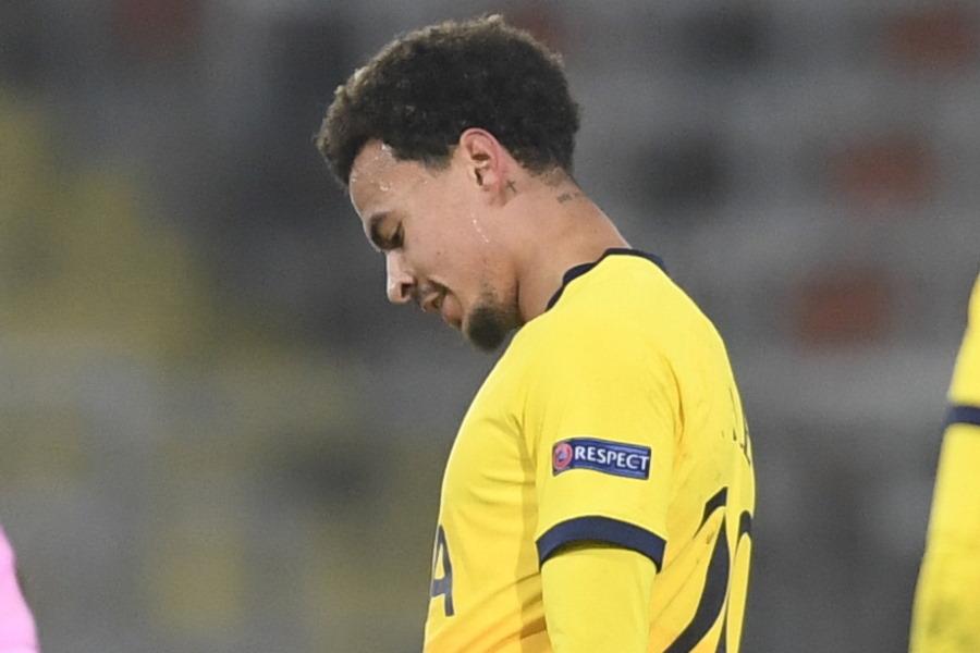 モウリーニョ監督の構想から外れたとされるトッテナムのイングランド代表MFデレ・アリ【写真:AP】