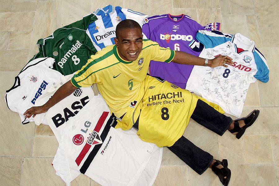 現役を引退後もサッカーにかかわり続けている元ブラジル代表セザール・サンパイオ【写真:本人提供】