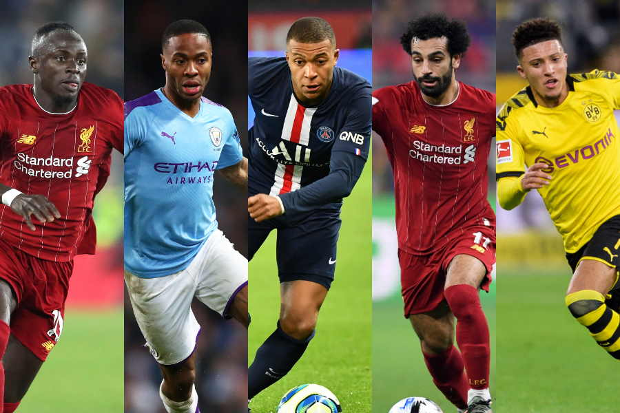 欧州5大リーグの推定市場価格最高値になったのは…?【写真:Getty Images】