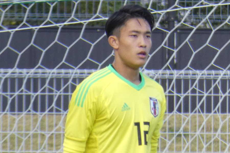 U-23代表GK谷晃生【写真:Football ZONE web】