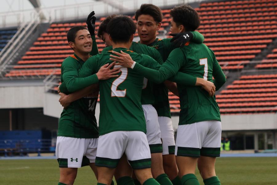 快勝で決勝進出を決めた青森山田【写真:Football Zone web 】