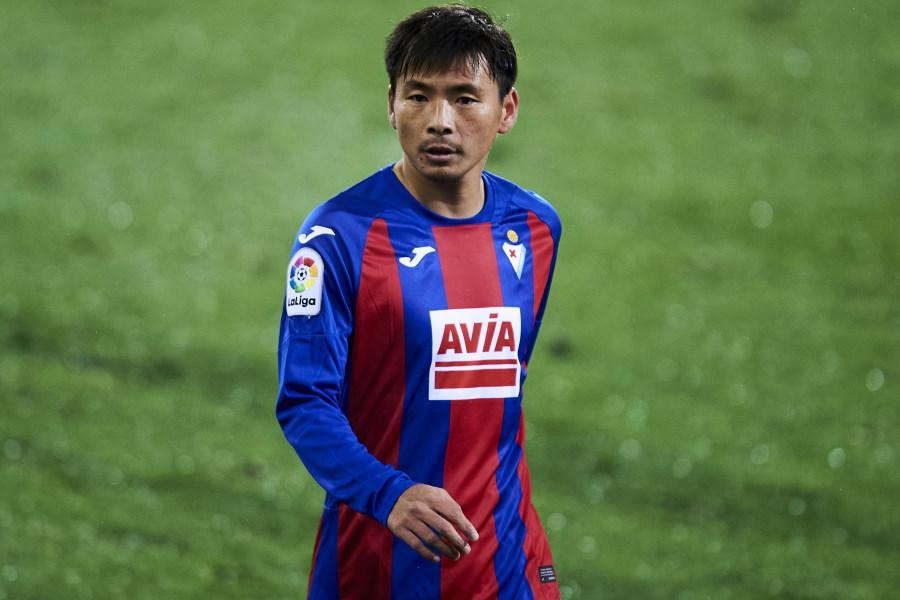 エイバルの元日本代表MF乾貴士【写真:Getty Images】