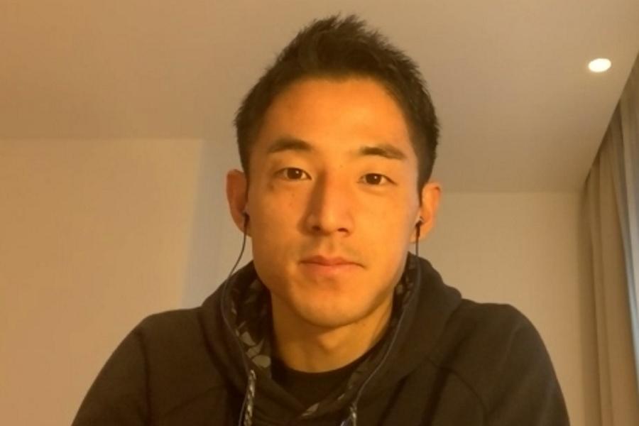 チームや自身について語る森岡亮太【※画像はスクリーンショットです】