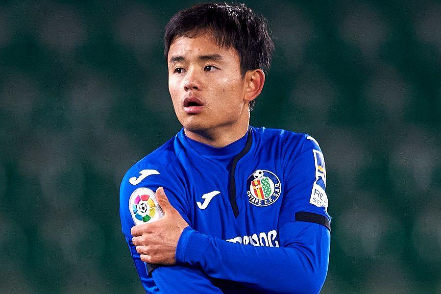 2ゴールに絡む活躍を見せたヘタフェの日本代表MF久保建英【写真:Getty Images】