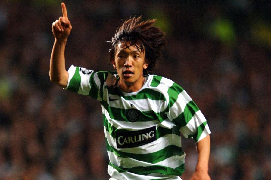 セルティック時代の元日本代表MF中村俊輔(横浜FC)【写真:Getty Images】