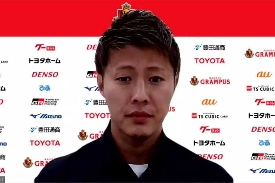 セレッソ大阪から名古屋グランパスへ移籍をしたFW柿谷曜一朗【※画像はスクリーンショットです】