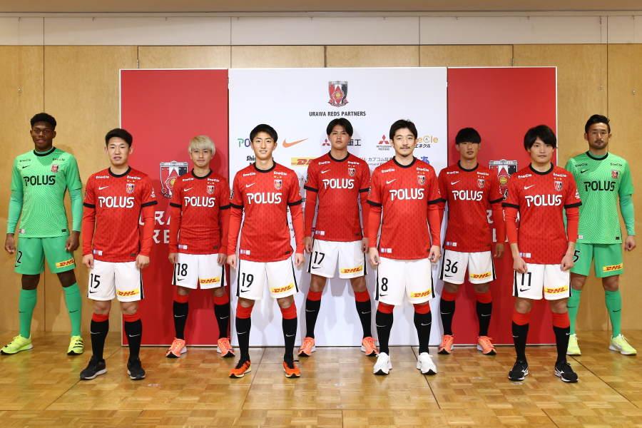 新シーズンの浦和が獲得した新加入選手【写真提供:ⒸURAWA REDS】