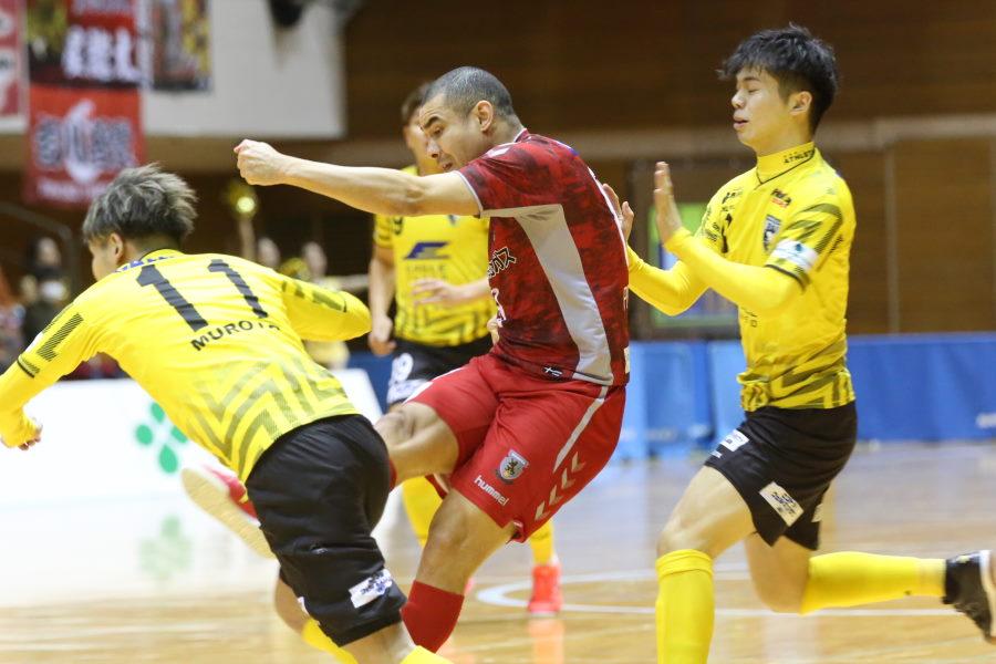 今シーズンもMVPの大本命、元ブラジル代表FPペピータ【写真:河合拓/Futsal X】