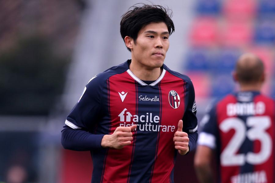 イタリア・セリエAのボローニャに所属する日本代表DF冨安健洋【写真:Getty Images】