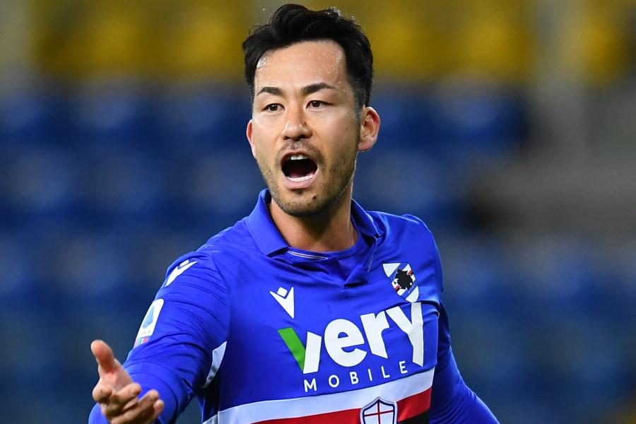 イタリア・セリエAのサンプドリアに所属する日本代表DF吉田麻也【写真:Getty Images】