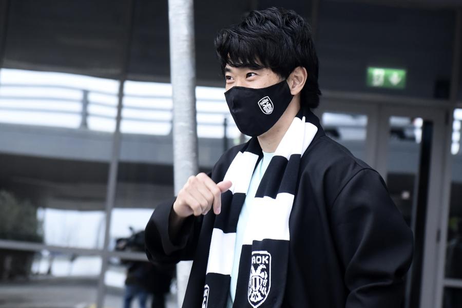 ギリシャ1部リーグデビューを果たしたMF香川真司【写真:AP】