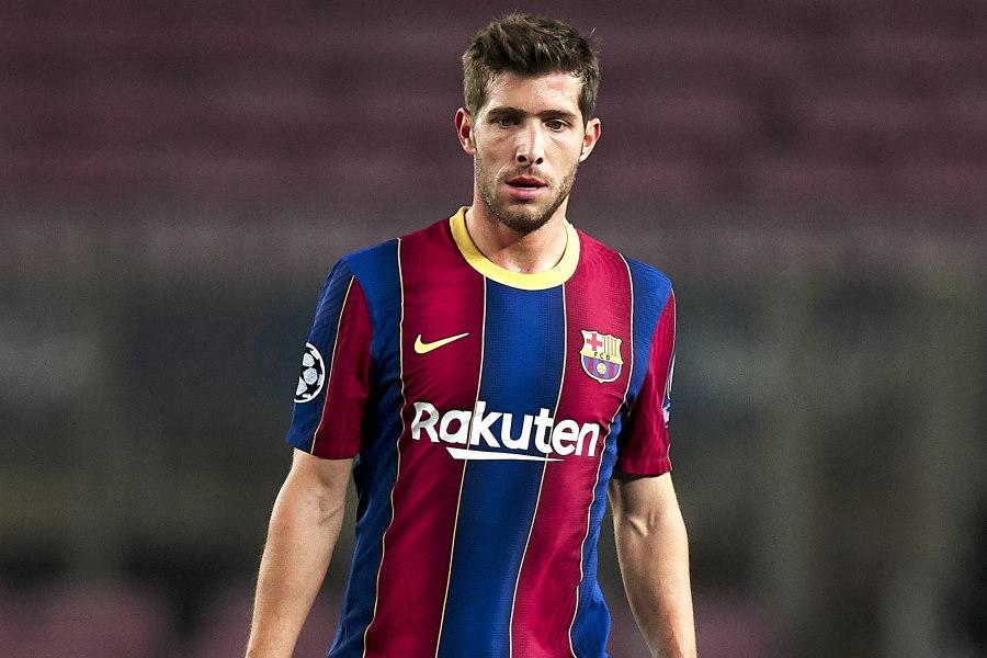 アンバサダーに就任したバルセロナのスペイン代表MFセルジ・ロベルト【写真:Getty Images】