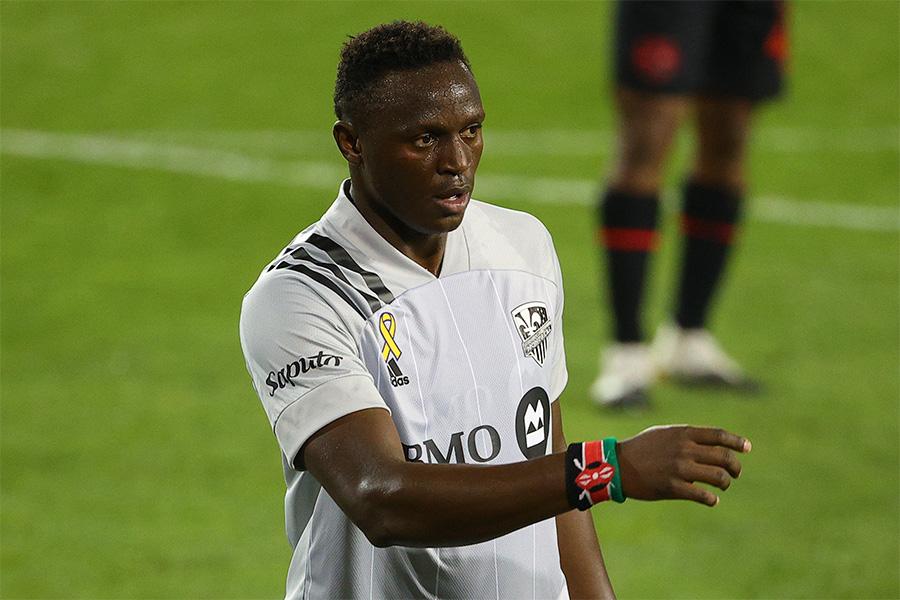 MLSのモントリオール・インパクトでプレーするMFビクター・ワニアマ【写真:Getty Images】