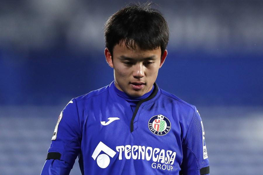 直近3試合で先発落ちとなるなど苦しい時間を過ごしている日本代表MF久保建英【写真:Getty Images】