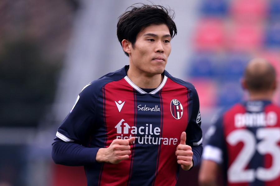 怪我により数試合の欠場が懸念されているボローニャの日本代表DF冨安健洋【写真:Getty Images】