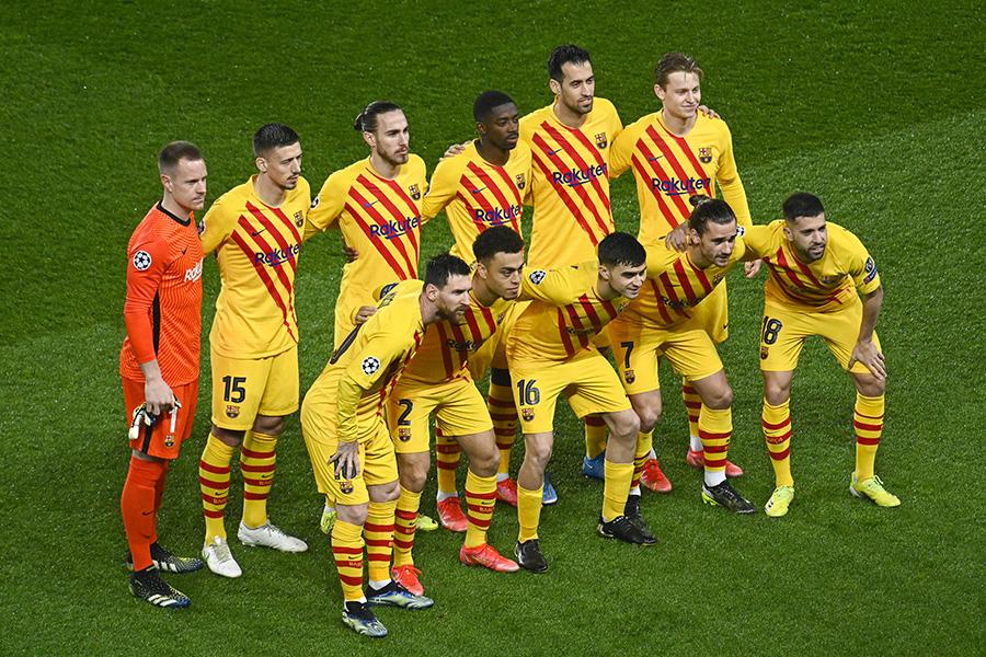 バルセロナの放出対象の5選手とは【写真:Getty Images】