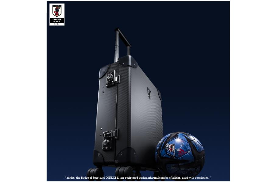 旅行かばんメーカー「グローブ・トロッター」と契約【写真:©JFA】