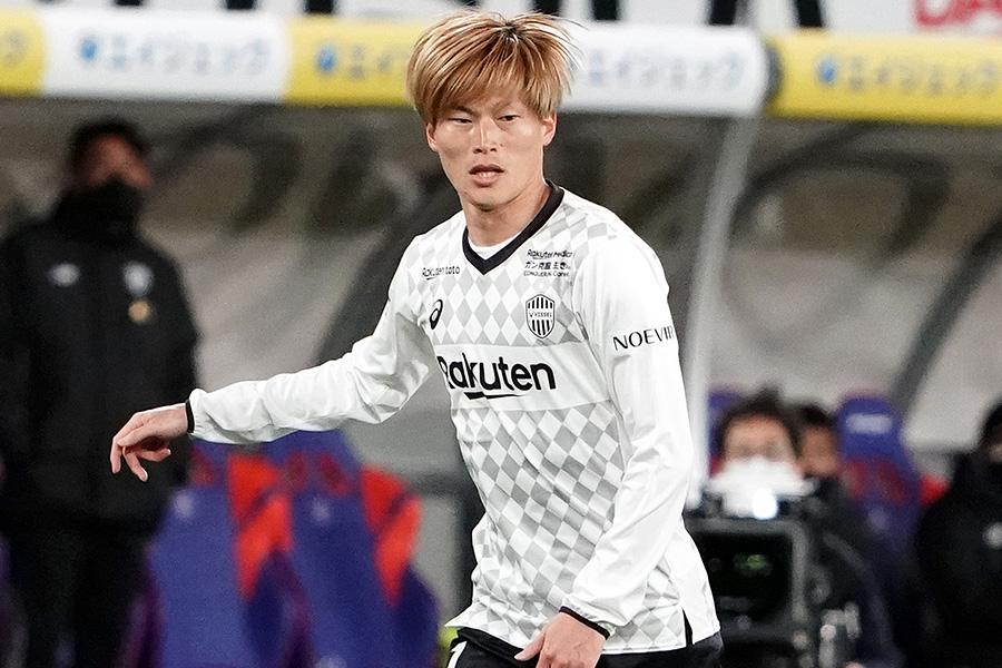 2ゴールで札幌i戦の勝利に貢献した神戸FW古橋亨梧【写真:Getty Images】