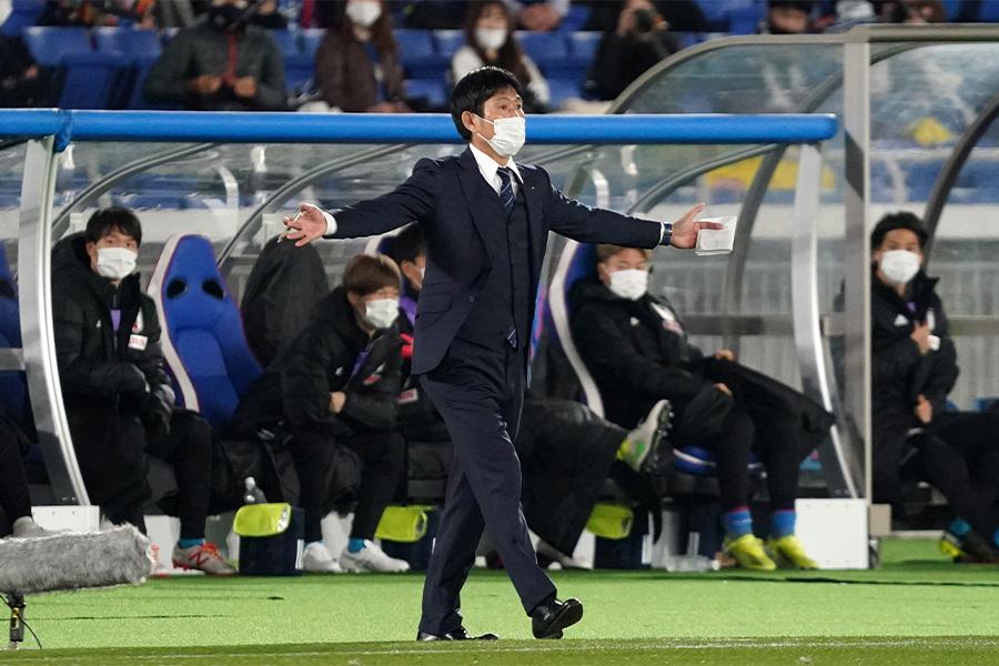 日本代表の森保一監督が快勝の選手たちを称賛【写真:Getty Images】