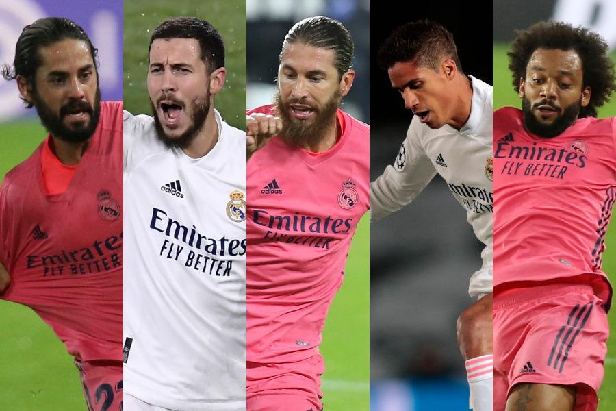 最大で6選手を売却する可能性があるレアル・マドリード【写真:AP】
