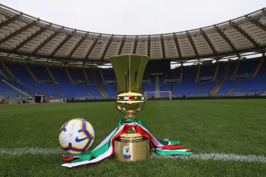 公式戦中断中のイタリアではコッパ・イタリア準決勝からの再開案が浮上【写真:Getty Images】