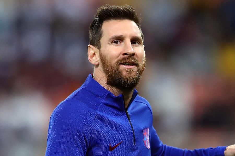 バルセロナのアルゼンチン代表FWリオネル・メッシ【写真:Getty Images】