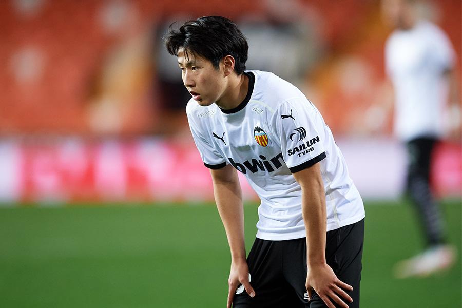 バレンシアでプレーする韓国代表MFイ・ガンイン【写真:Getty Images】