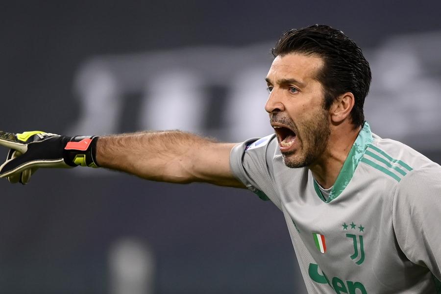 再び移籍する可能性が浮上しているユベントス元イタリア代表GKジャンルイジ・ブッフォン【写真:AP】