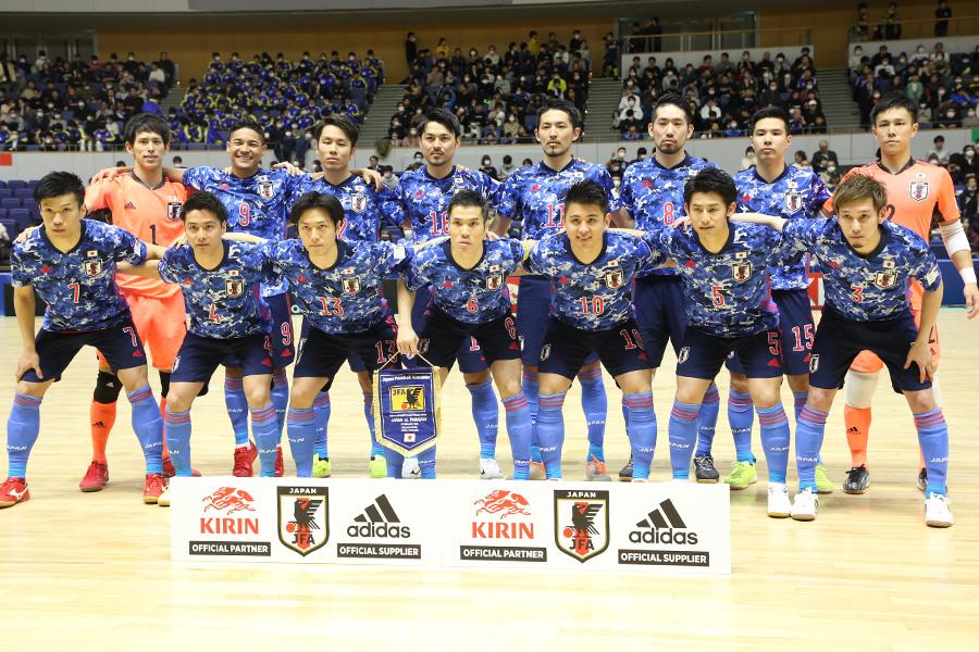 フットサル日本代表のフットサル・ワールドカップ参加が決定【写真:河合 拓/Futsal X】