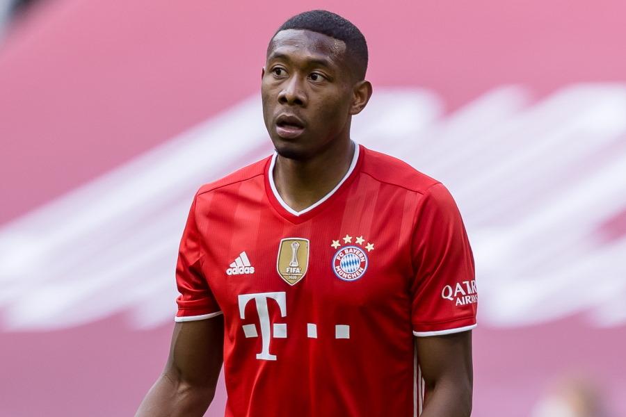今季限りでバイエルンと契約満了を迎えるオーストリア代表DFダビド・アラバ【写真:Getty Images】