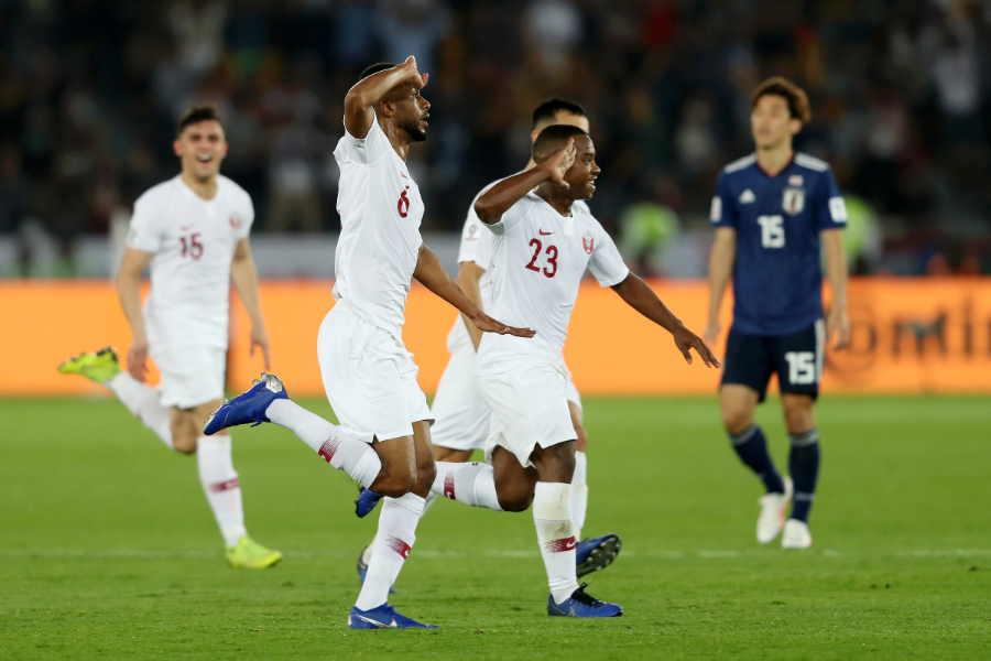 2019年のアジアカップ決勝でカタールは日本に3-1で勝利【写真:Getty Images】