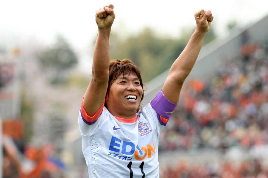 広島時代にゴールを量産した佐藤寿人【写真:Getty Images】