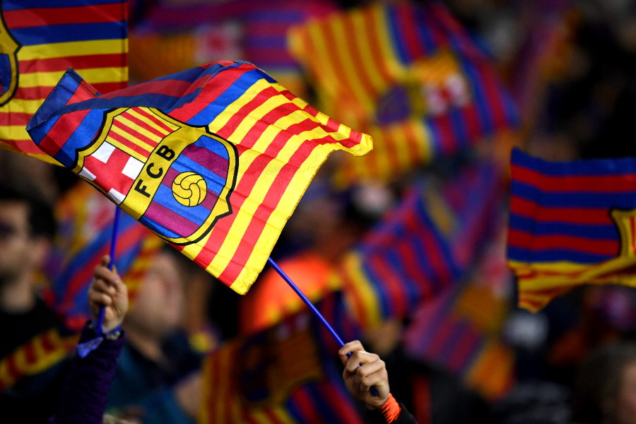 バルセロナの経営状況を専門家が懸念(写真はイメージ)【写真:Getty Images】
