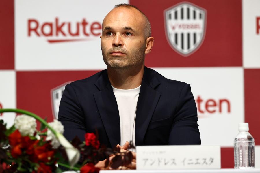 イニエスタがJ1神戸と契約延長に合意【写真提供:ⒸVISSEL KOBE】