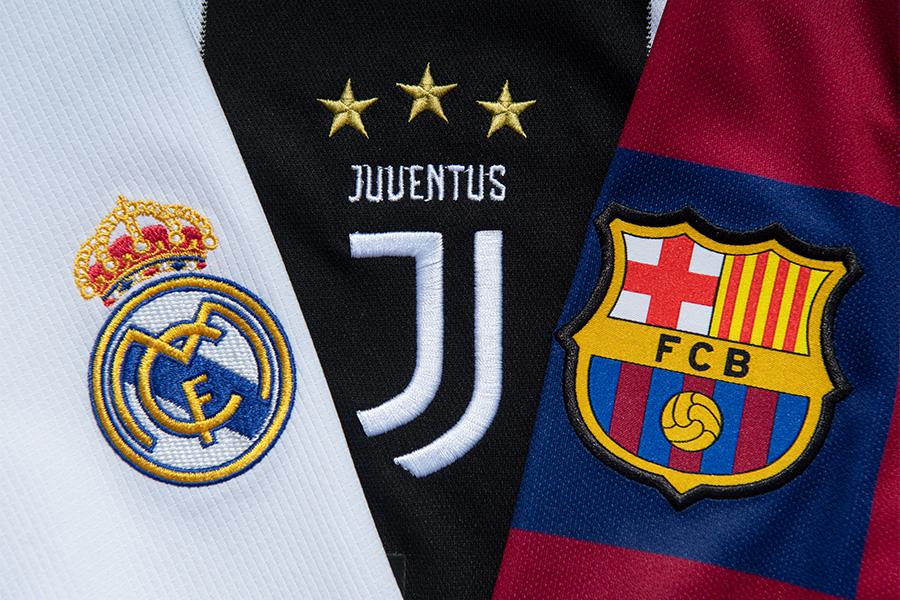 UEFAがレアル・マドリード、ユベントス、バルセロナへの懲戒処分を検討か【写真:Getty Images】