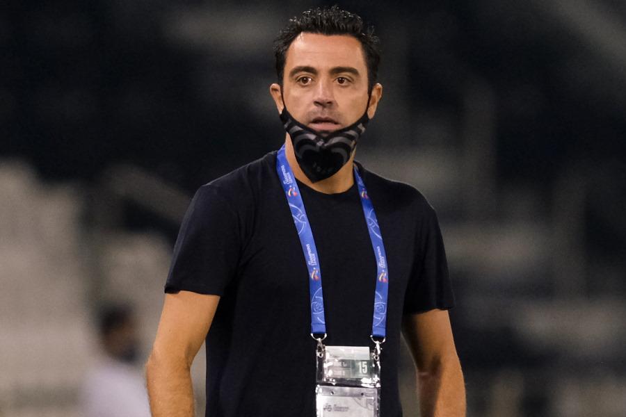 2023年まで契約延長を結んだカタール1部アル・サッドを率いるシャビ監督【写真:Getty Images】