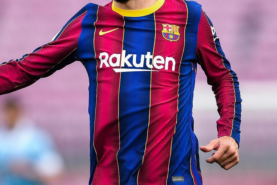 バルセロナの来季ホームユニフォームデザインが流出【写真:Getty Images】