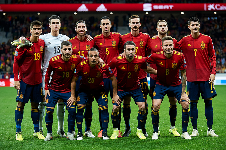 EUROに臨むスペイン代表のメンバー24名が発表【写真:Getty Images】