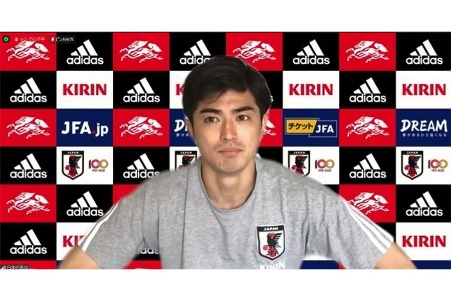 川崎フロンターレで活躍を見せるDF谷口彰悟【画像はスクリーンショットです】