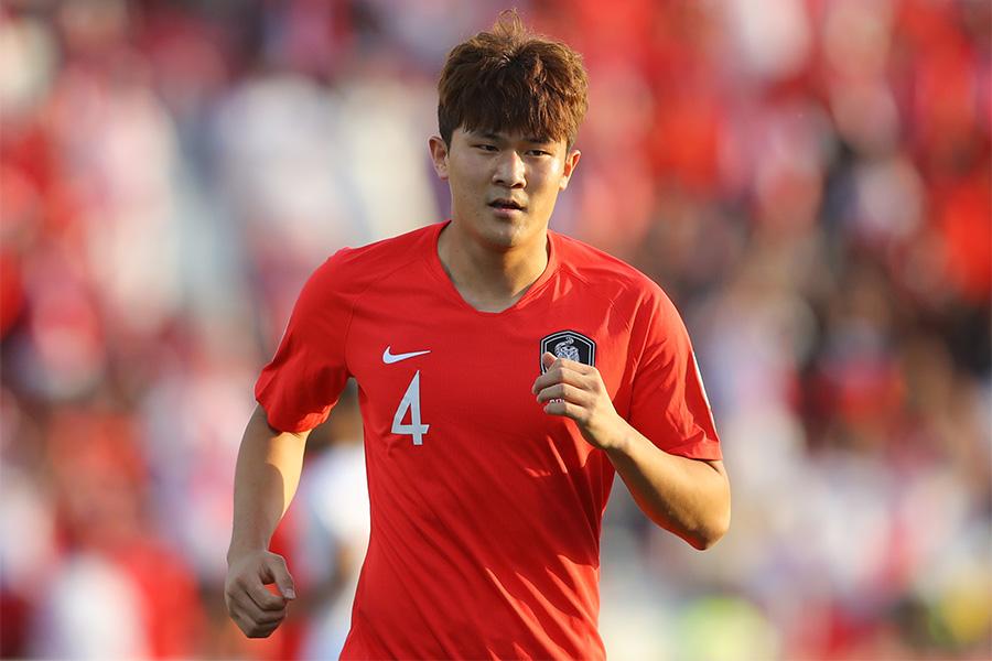 韓国代表にも選出されているDFキム・ミンジェ【写真:Getty Images】