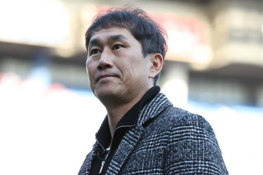 膵臓癌を患い闘病している元韓国代表MFユ・サンチョル氏【写真:高橋 学】