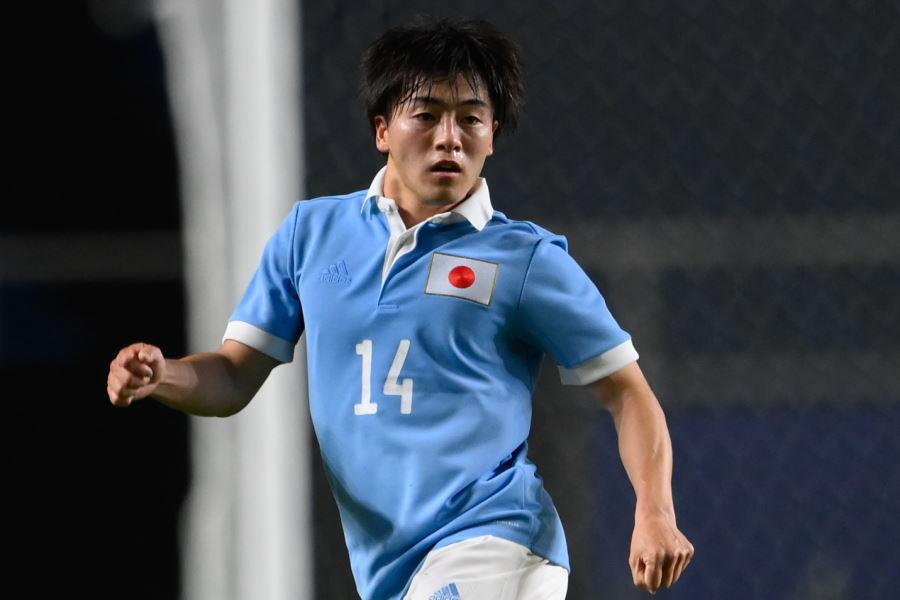 U-24日本代表MF相馬勇紀【写真:浦 正弘】
