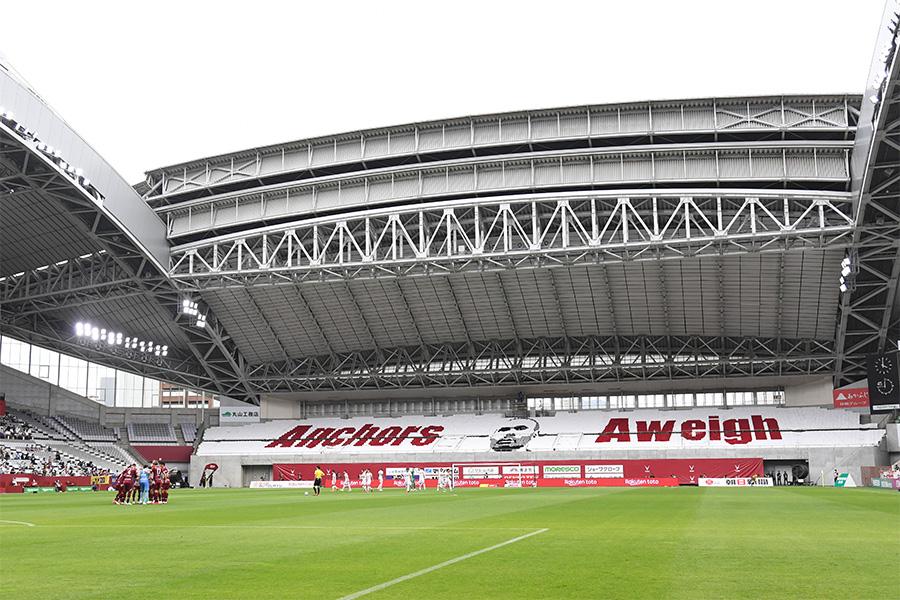 ヴィッセル神戸のホームグラウンド、ノエビアスタジアム神戸【写真:Getty Images】