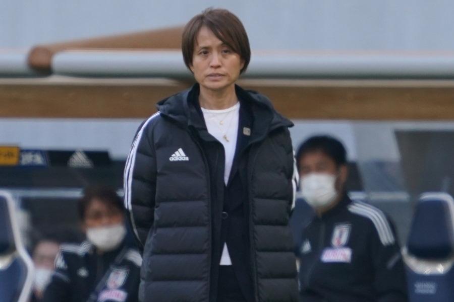なでしこジャパン(日本女子代表)高倉麻子監督【写真:Getty Images】