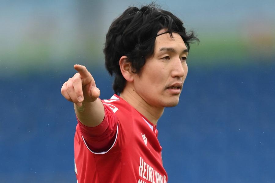 ハノーファーからウニオン・ベルリンへの移籍が決まった日本代表MF原口元気【写真:Getty Images】