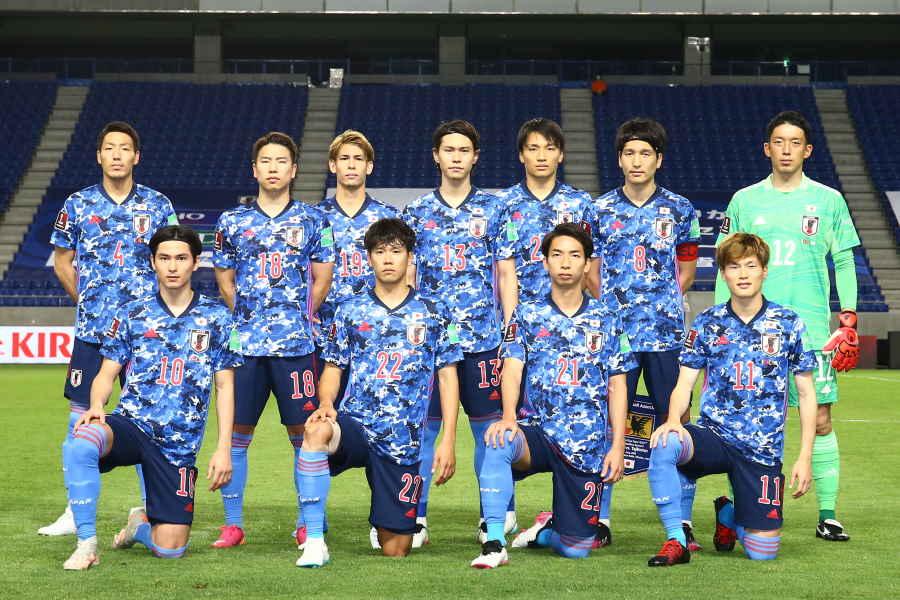 日本代表のスタメンが発表【写真:©JFA】