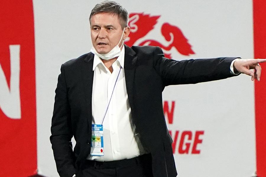 セルビア代表のストイコビッチ監督【写真:Getty Images】